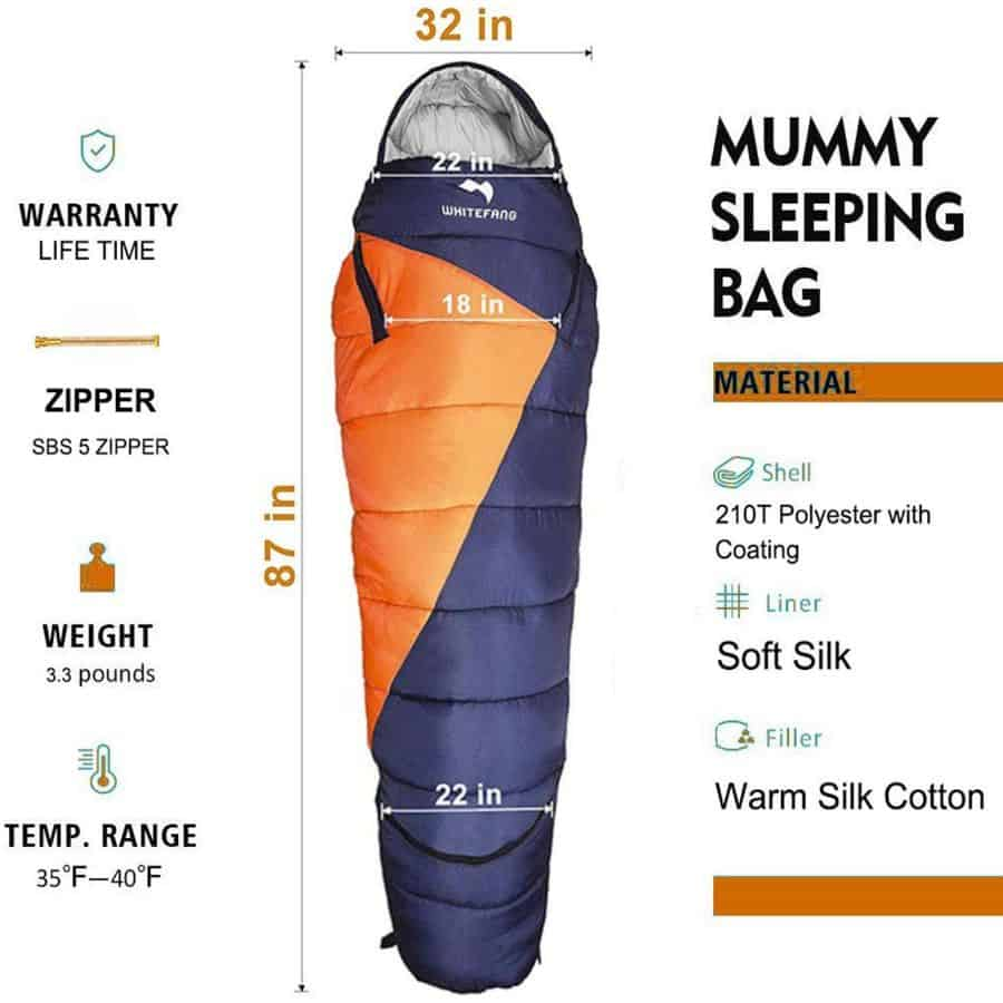 Whitefang sleeping bag - photo 4