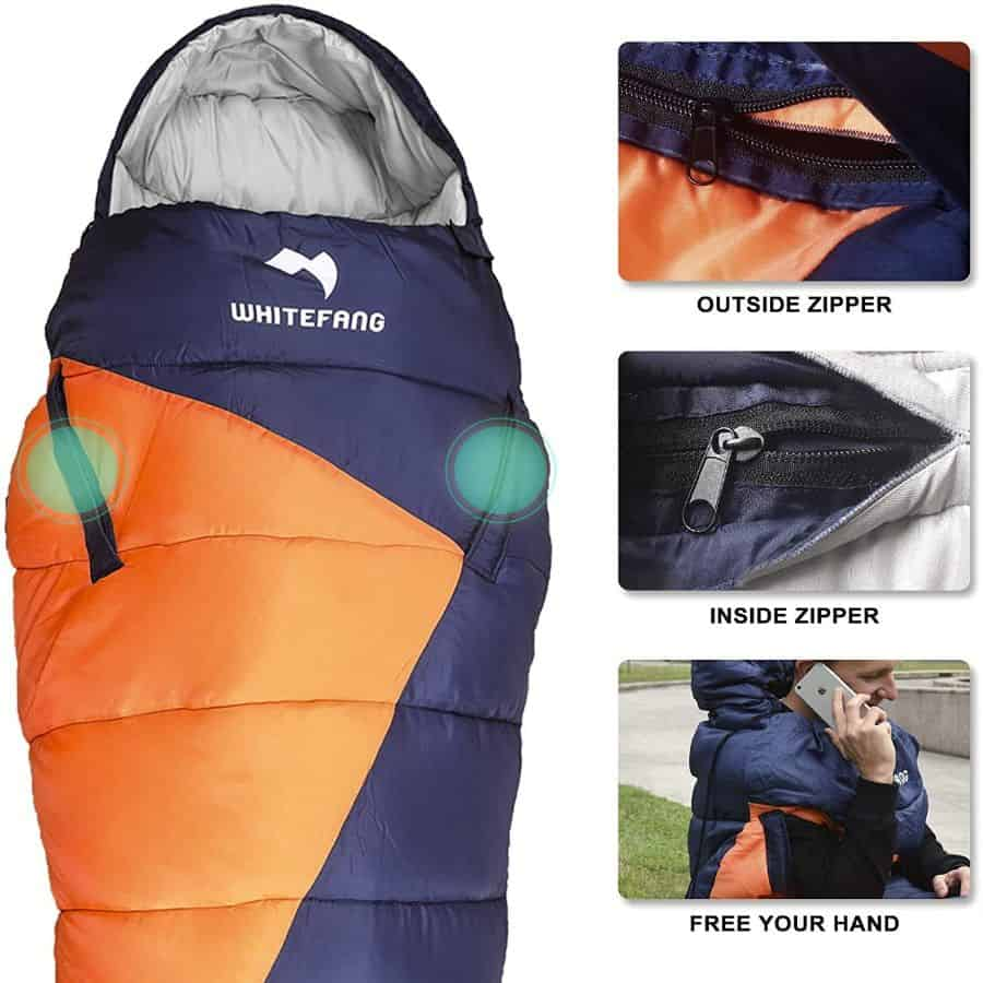 Whitefang sleeping bag - photo 3