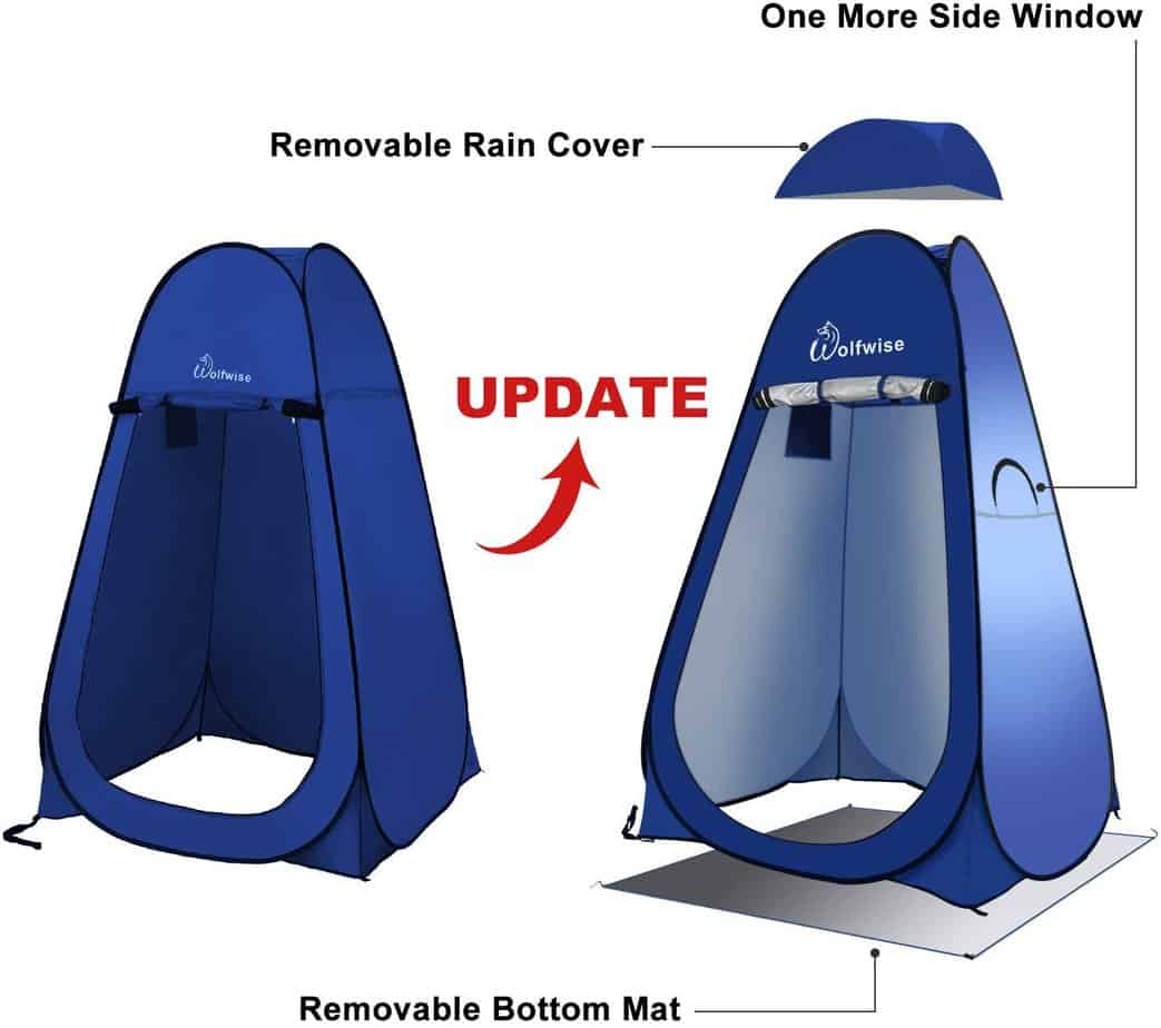Wolfwise popup shower -tent - photo 2