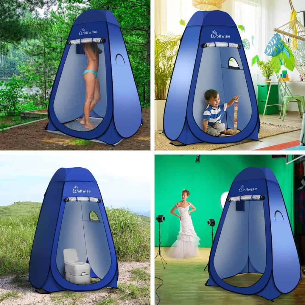 Wolfwise popup shower -tent - photo 1