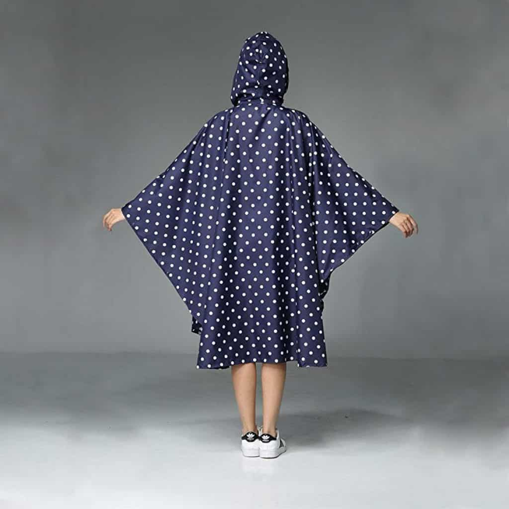 Women rain poncho waterproof - photo 1