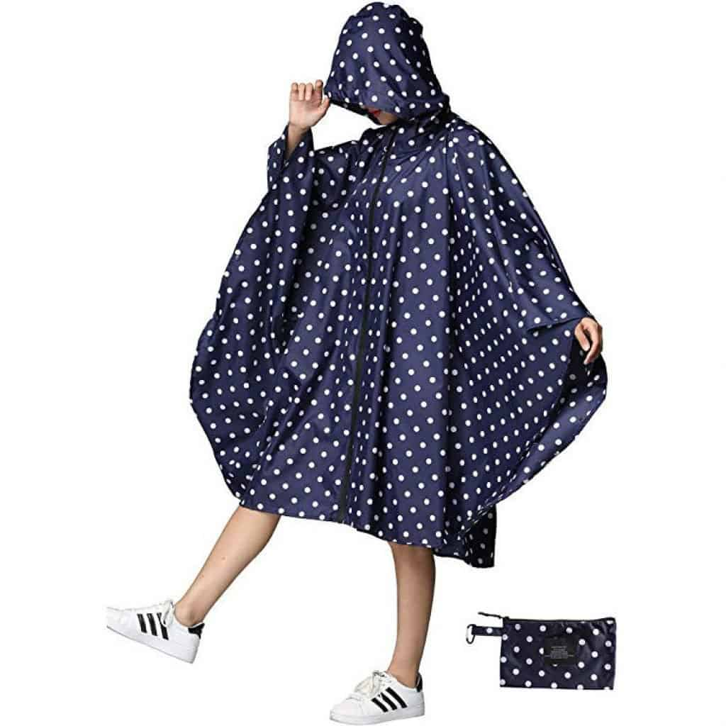 Women rain poncho waterproof - photo 4