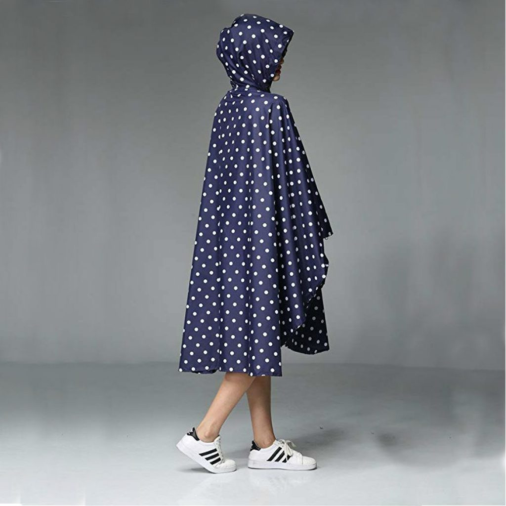 Women rain poncho waterproof - photo 2