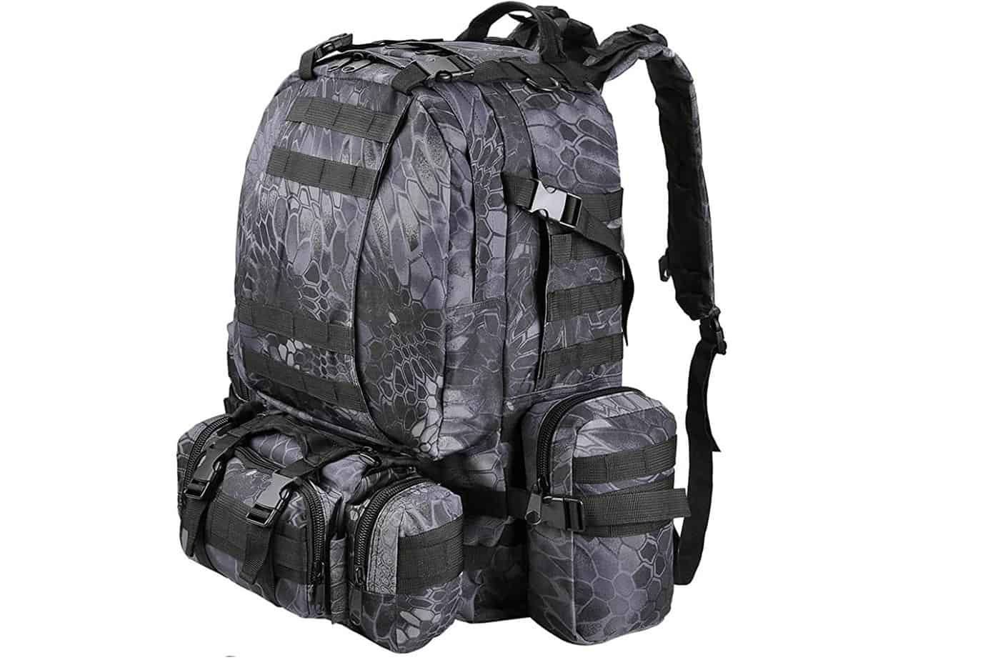 AW 55L 600D Tactical Army Rucks