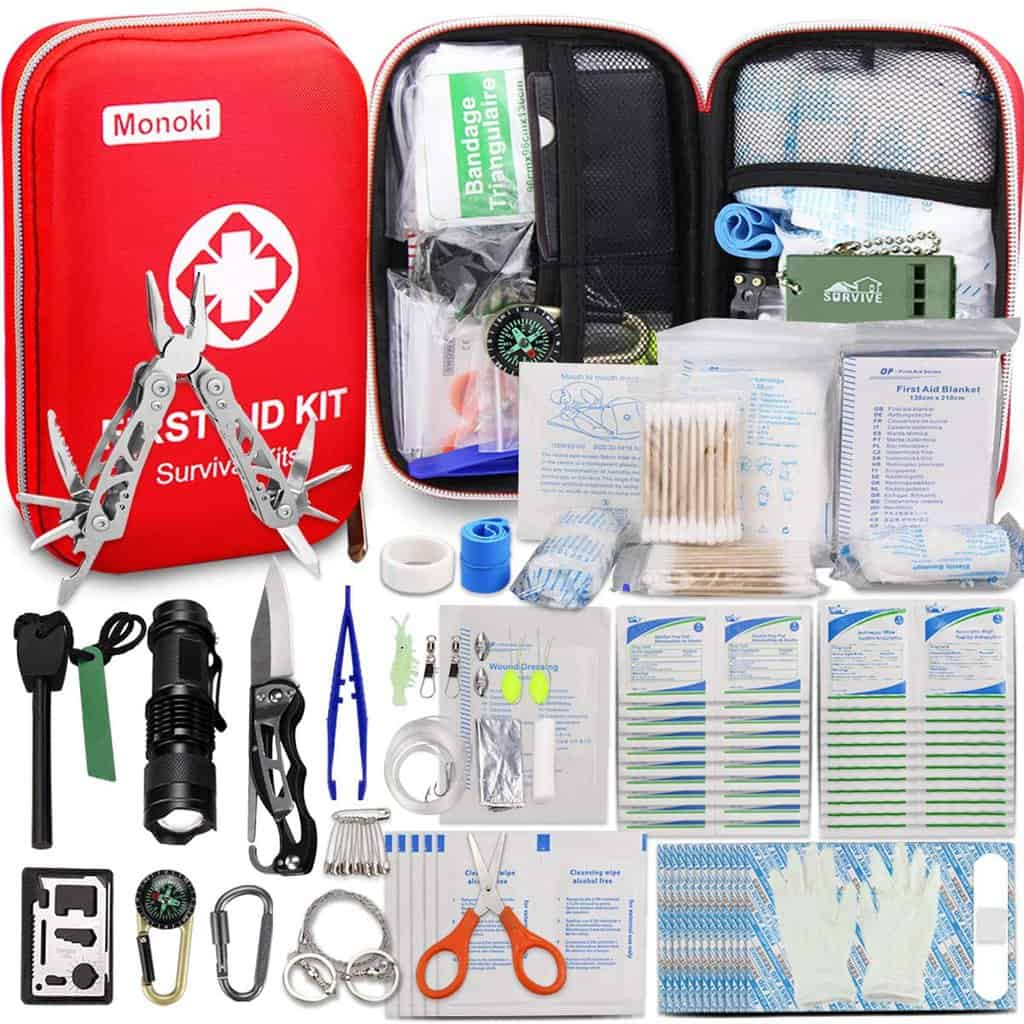 Monoki First Aid Kit Survival Kit 1