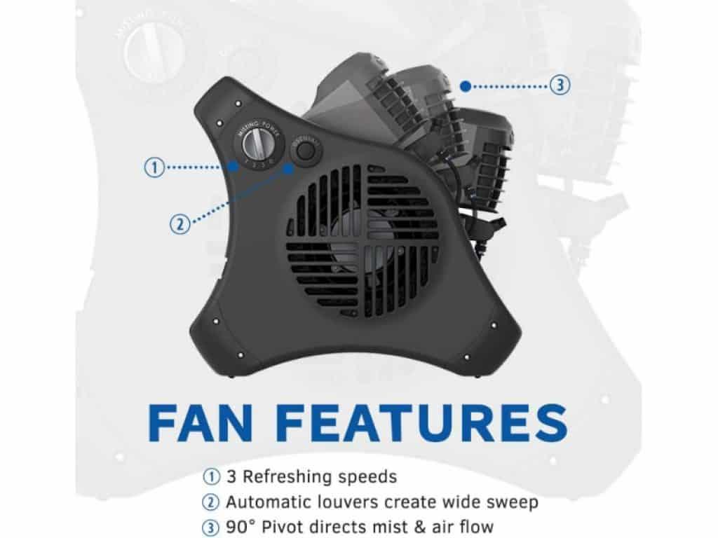 Lasko 7050 fan features