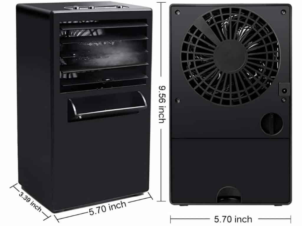 SHSTFD Portable Air sizes