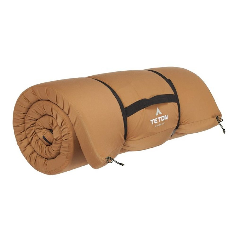 TETON Sports Outfitter XXL Camp Pad in packed state