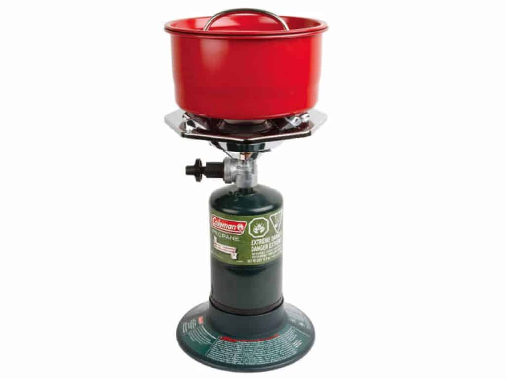 coleman portable bottletop propane