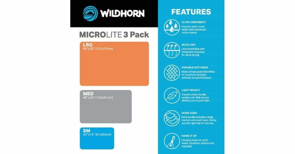 Wildhorn Microlite pack features