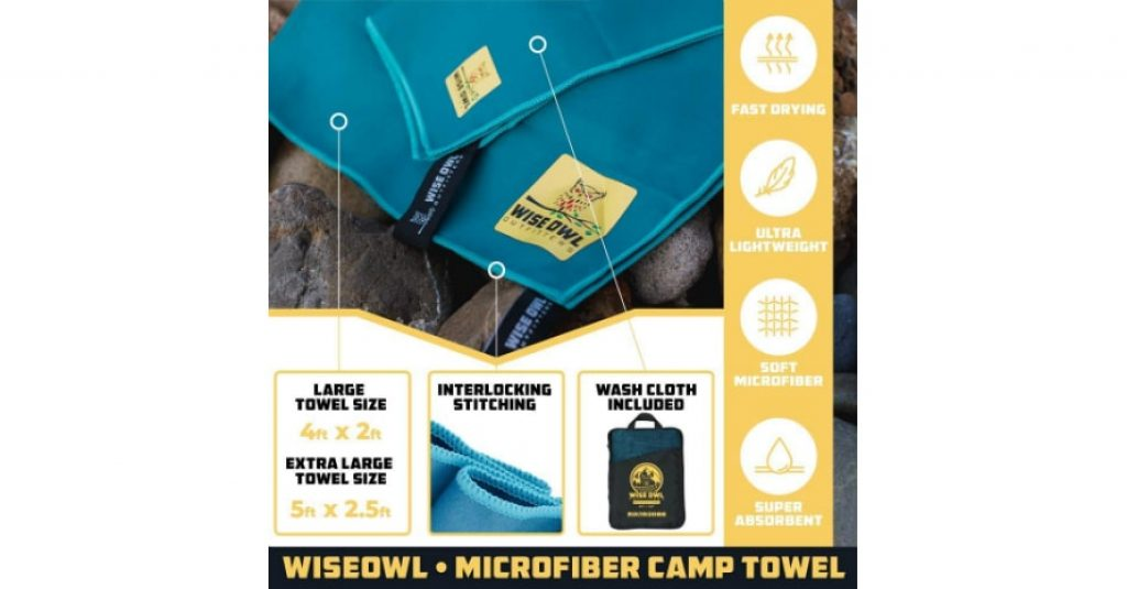 Wise Owl Outfitters Camping sizes