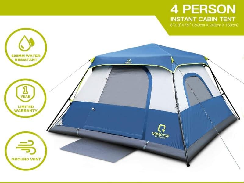ot qomotop waterproof tent