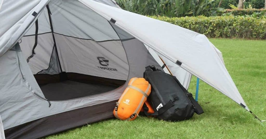 Bessport Backpacking Tent with backpacks