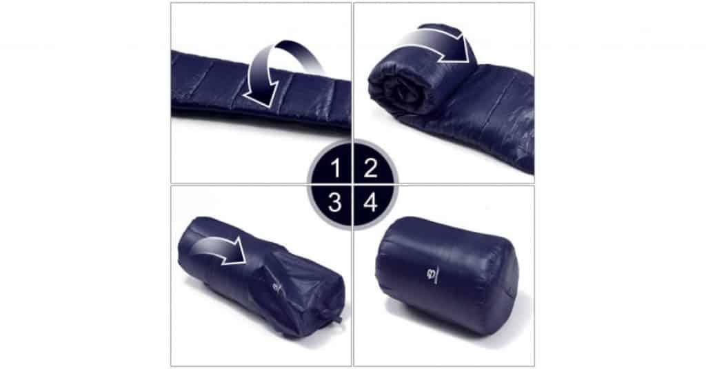 Bessport Mummy Sleeping Bag 3-4 Season