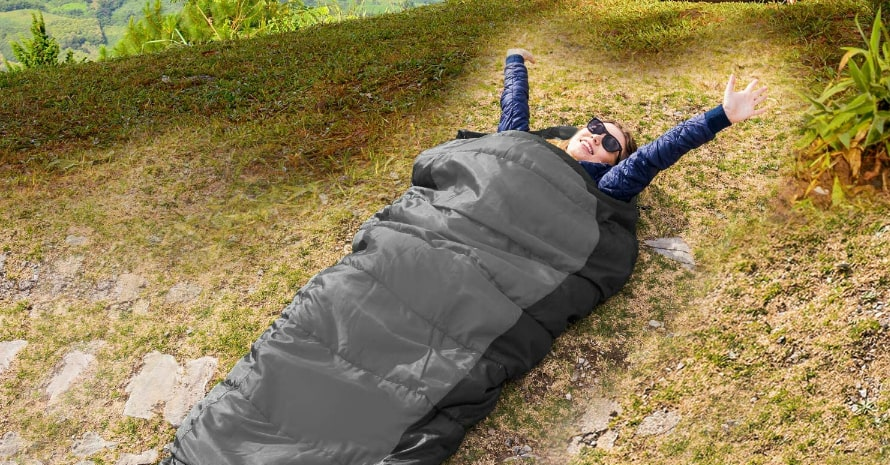 HiHiker Mummy Bag and Travel Pillow