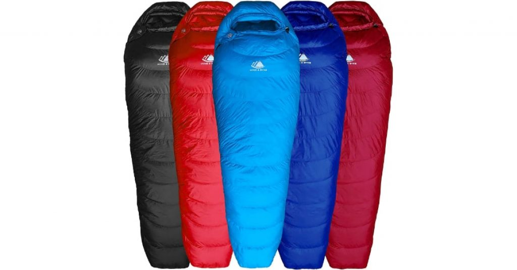 Hyke Byke Shavano 32 Degree Sleeping Bag